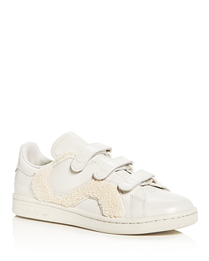 Raf Simons for Adidas Unisex Stan Smith Comfort Badge Triple Strap Sneakers