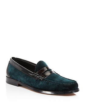 G.H. Bass & Co. - Men's Larson Velvet Penny Loafers