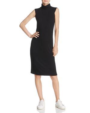 Splendid Rib-Knit Turtleneck Dress