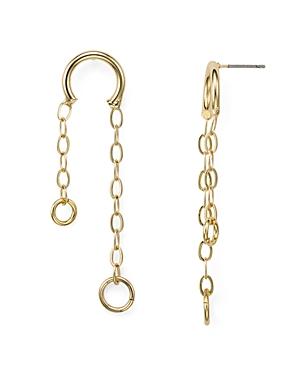 Aqua Chain Drop Earrings - 100% Exclusive