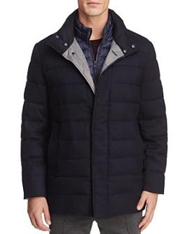 Cole Haan - Flannel Down Jacket