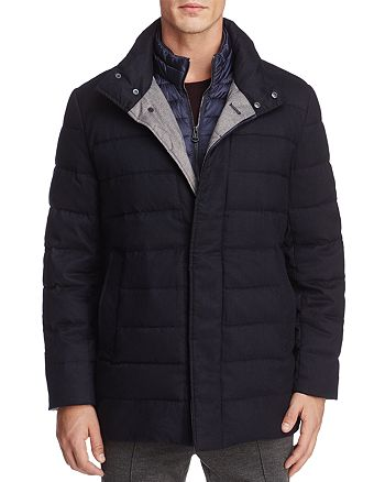 Cole Haan - Flannel Down Jacket