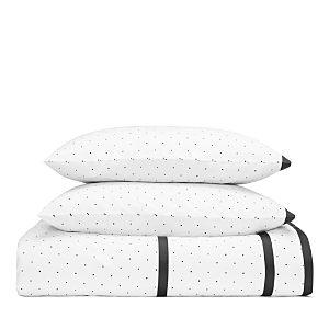 kate spade new york Dot Frame Duvet Cover Set, Queen