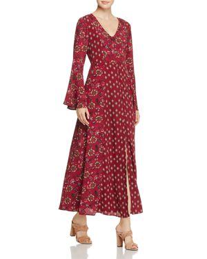Band of Gypsies Bell-Sleeve Maxi Dress