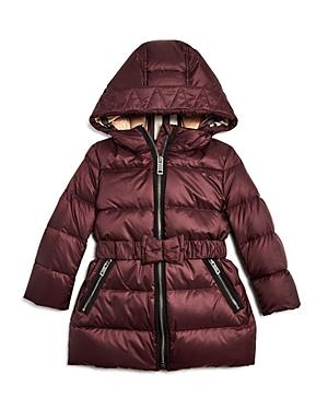 Burberry Girls Consillia Down Puffer Jacket  Baby