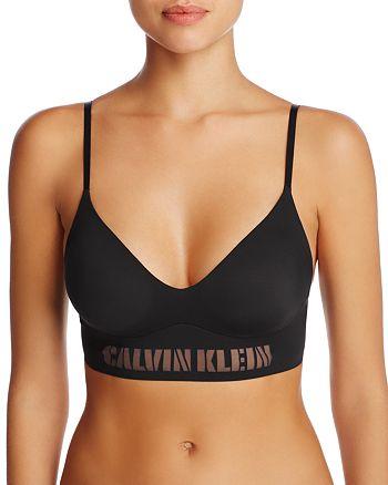 be8f47f8cdc9c Calvin Klein - Laser Triangle Bralette