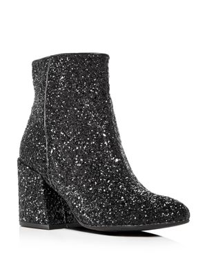 Kenneth Cole Women's Randii Glitter Block Heel Booties