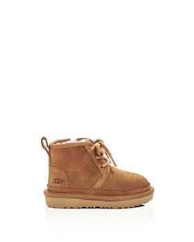UGG® - Boys' Neumel II Suede Lace Up Boots - Walker, Toddler