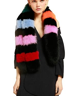 Charlotte Simone Popsicle Fox Fur Scarf