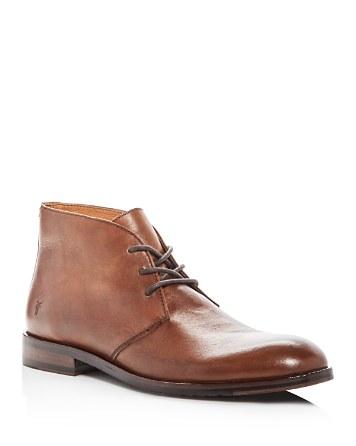 $Frye Men's Sam Leather Chukka Boots - Bloomingdale's