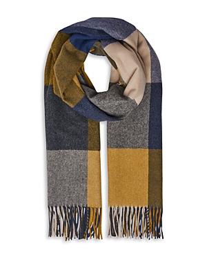 Whistles Modern Check Blanket Scarf
