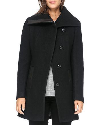 ed6f8406af98 Soia & Kyo Jemma Wool Coat | Bloomingdale's