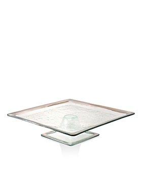 Annieglass - Square Cake Plate