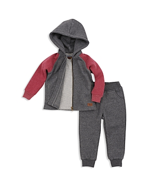 7 For All Mankind Boys Hoodie Tee  Joggers Set  Baby