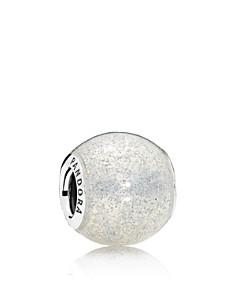 PANDORA Sterling Silver & Enamel Glittery Ball Charm - Bloomingdale's_0