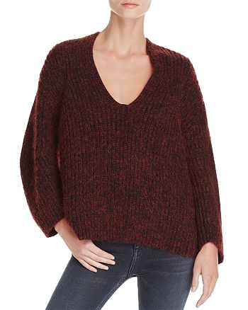 T by Alexander Wang - Chunky Marled Knit Sweater