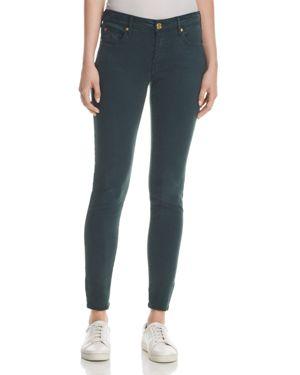 True Religion Jennie Curvy Skinny Jeans in Hunter Green 2668843