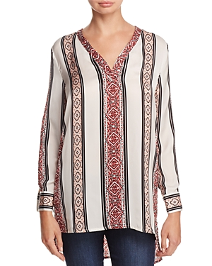 cupcakes and cashmere Labelle Printed Tunic