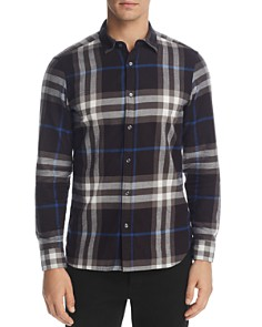 Burberry Salwick Flannel Long Sleeve Button-Down - Bloomingdale's_0