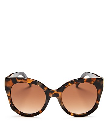 $MARC JACOBS Round Sunglasses, 53mm - Bloomingdale's