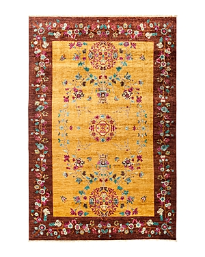 Solo Rugs Eclectic Area Rug, 9' 1 x 6' 3