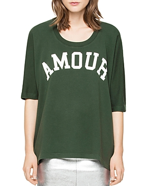 Zadig & Voltaire Amour Graphic Tee