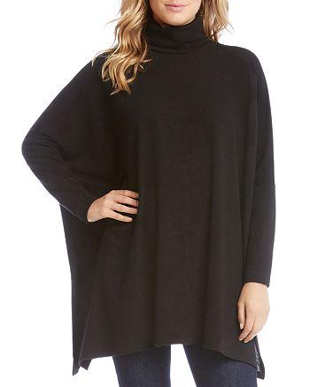 Karen Kane - Turtleneck Poncho Sweater