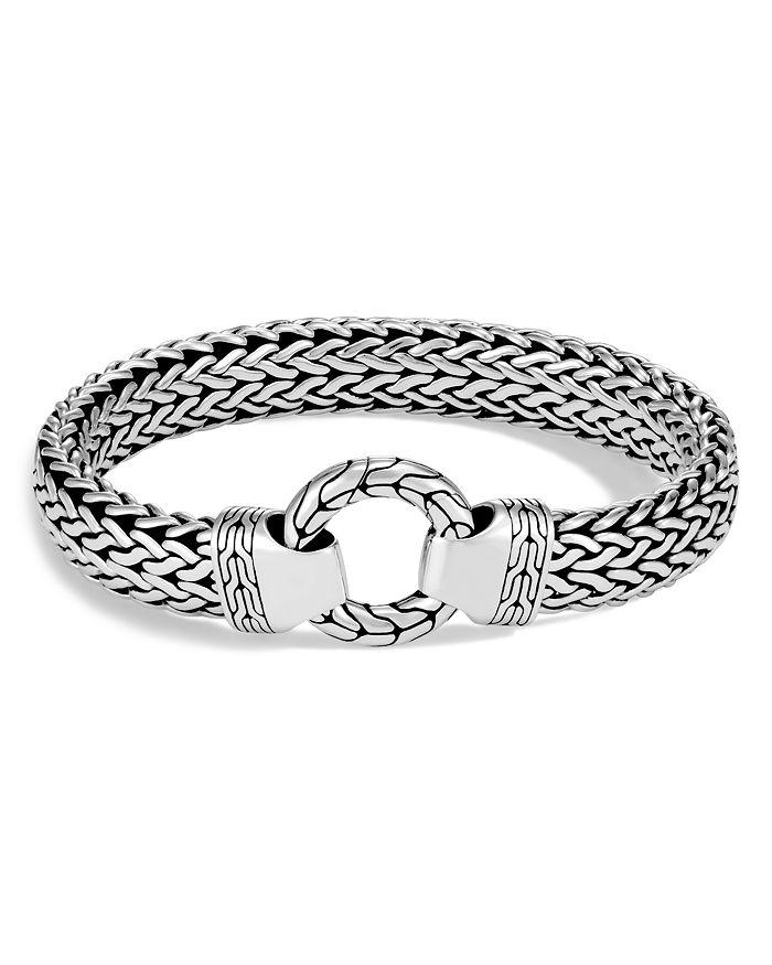 JOHN HARDY - Men's Sterling Silver Classic Chain Clasp Bracelet