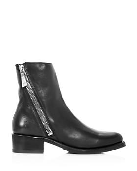 Frye - Women's Demi Leather Block Heel Booties