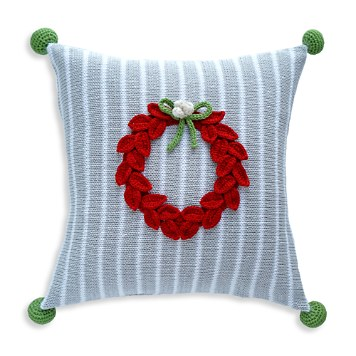 $Melange Wreath Pillow - Bloomingdale's