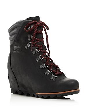 Sorel Women's Waterproof Leather Conquest Wedge Booties