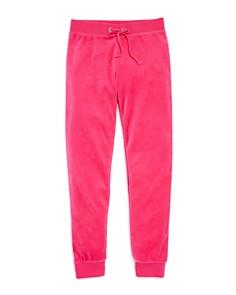 Juicy Couture Black Label Girls' Zuma Velour Jogger Pants, Little Kid - 100% Exclusive - Bloomingdale's_0