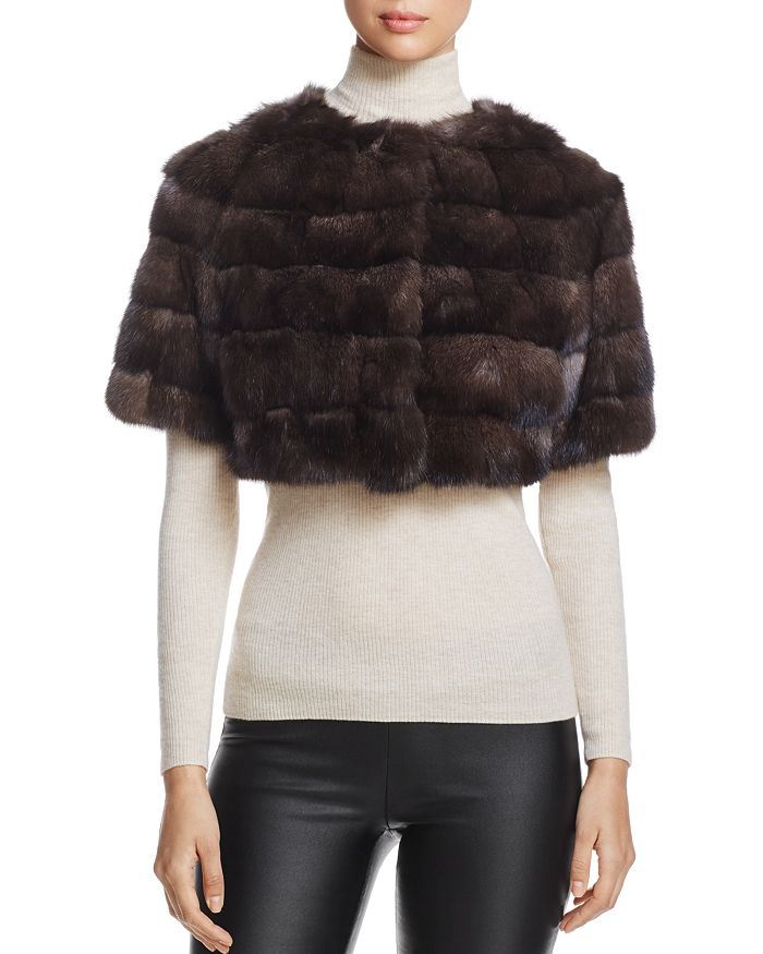 Maximilian Furs - Sable Fur Bolero - 100% Exclusive