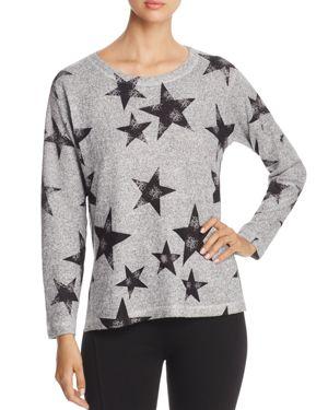 Nally & Millie Star Print Sweater