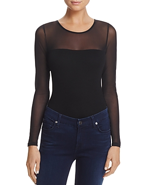 French Connection Allie Mesh Bodysuit