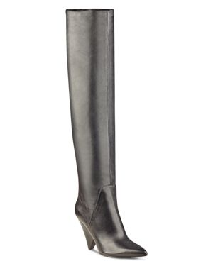 Marc Fisher Ltd. Fancee Leather Over-the-Knee Boots