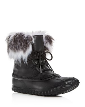 Sorel Women's Out N About Faux-Fur Lux Booties