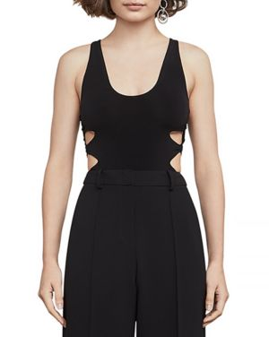 Bcbgmaxazria Chrissy Side Cutout Bodysuit