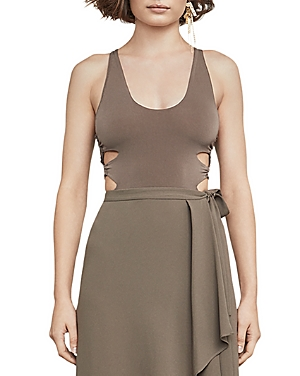 Bcbgmaxazria Chrissy Side Cutout Bodysuit at Bloomingdale's