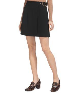 Whistles Arpi Crossover Buckle Skirt