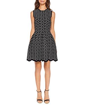 Ted Baker Bryena Jacquard Dress