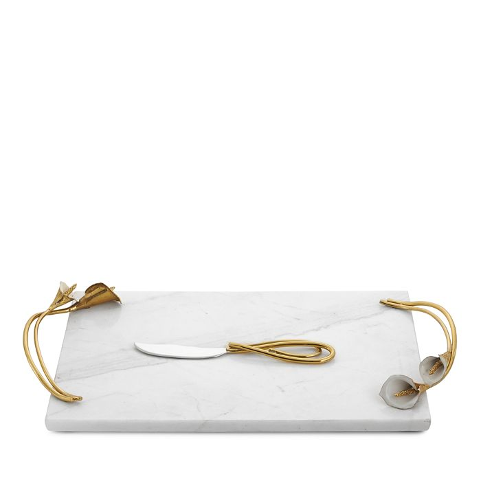 Michael Aram - Calla Lily Cheese Board with Knife
