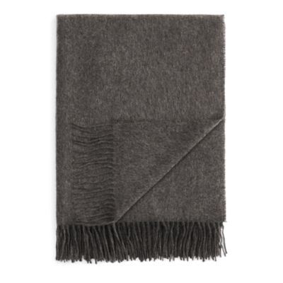 $FRAAS Solid Cashmere Throw - 100% Exclusive - Bloomingdale's