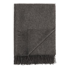 FRAAS Solid Cashmere Throw - 100% Exclusive - Bloomingdale's_0