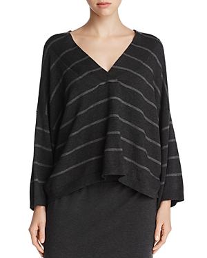 Eileen Fisher Oversized Stripe Sweater
