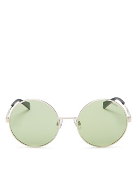 Polaroid - Women's Round Polarized Sunglasses, 55mm