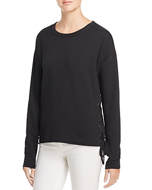 rag & bone/Jean Lace-Up Sweatshirt - 100% Exclusive