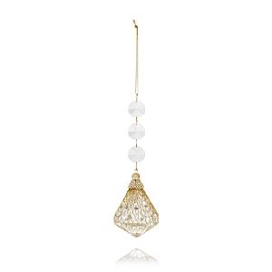 Bloomingdale's Crystal Drop Ornament - 100% Exclusive