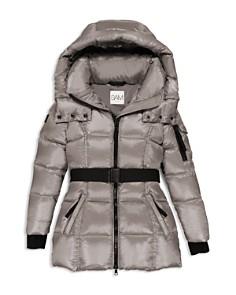 SAM. - Girls' Soho Belted Puffer Jacket - Little Kid