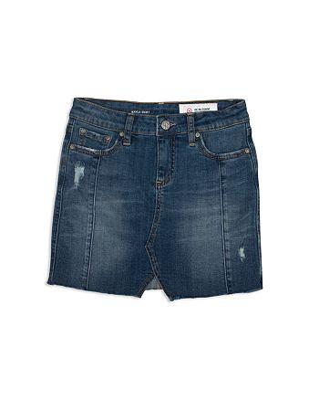 ag Adriano Goldschmied Kids - Girls' Distressed Denim Skirt - Big Kid